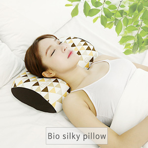 Bio, silky, pillow(Medium Size), Brown,  Korea